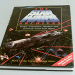THE STAR WARS ARCHIVES PROPS, COSTUMES MODELS LARGE HARDBACK BOOK @SOLD@